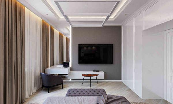 дизайн интерьера квартир в минске, квартира в современном стиле